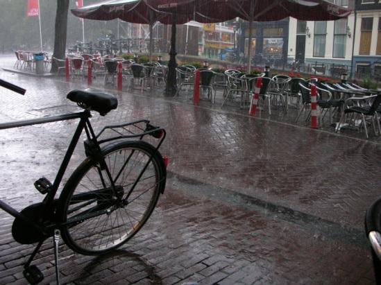 Amsterdam rain (my first Flickr photo)