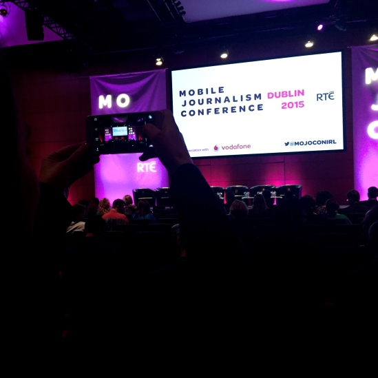 The World's First Ever Mobile Journalism Conference